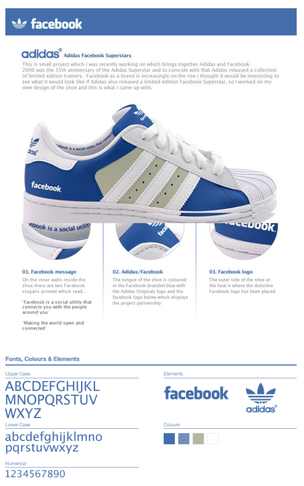 Imperialismo Que agradable Otoño  Facebook/adidas trainers