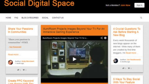 Social Digital Space has re-opened its guest blogging platform