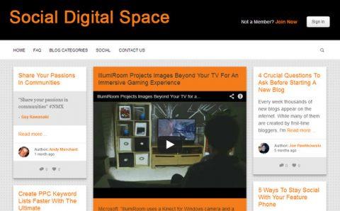 Social Digital Space has re-opened its guest blogging platform