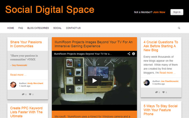 Social Digital Space - Guest Blogging