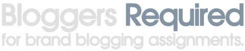 Bloggers Required officially launches today!