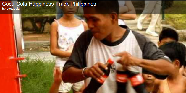 Coke Happiness Truck