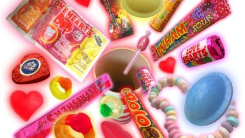 This Tweets for Sweets installation makes you smile!