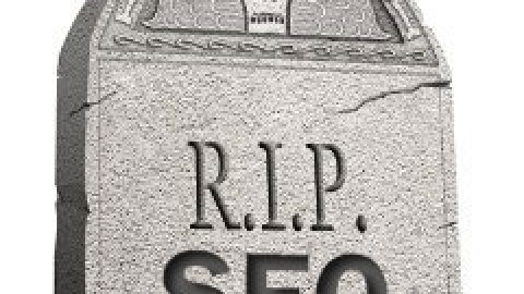 Infographic of the week: The Death Of SEO