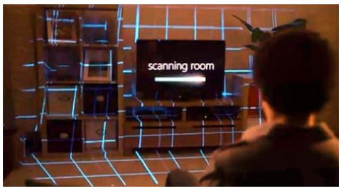 Microsoft: IllumiRoom, makes for immersive gaming