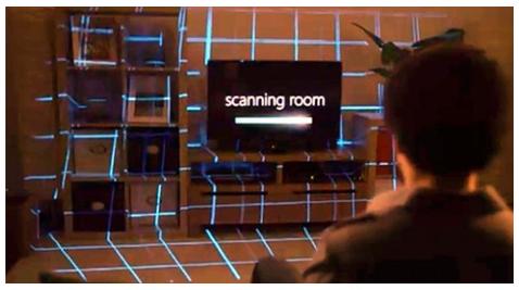 Scanning room