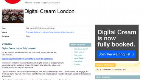 Wendy McAuliffe to chair the Community Management table at Digital Cream, London 2013
