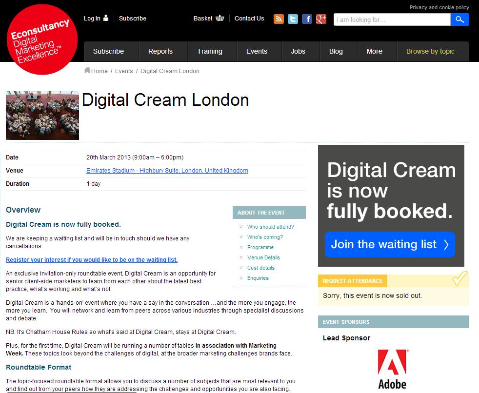 Digital Cream