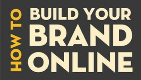 Infographic- How to build your brand online