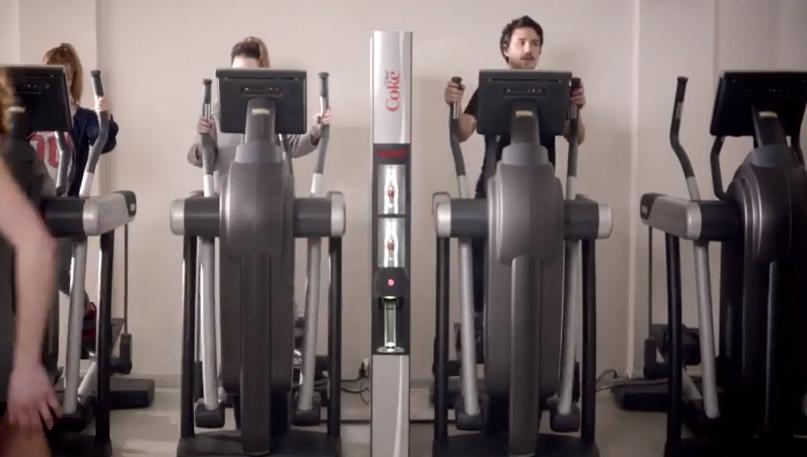 Diet Coke's 'Slender Vender': The Skinny Vending Machine