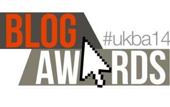 UK Blog Awards #UKBA14