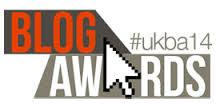 UK Blog Awards #ukba14