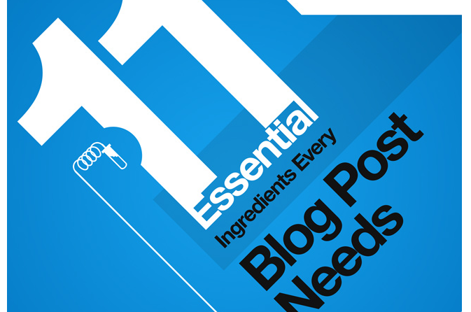 11 elements blog posts need to succeed [Infographic]