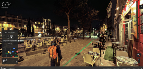 Google night walk – Marseille