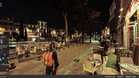 Google night walk – Marseille